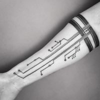 Family Circuitree Tattoo (by Dino Nemec) by gruppler
