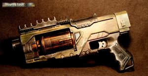 Spectre Movie Prop Sideview by JohnsonArms