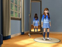 Sims 3 - Denise Nickerson in everyday outfit 1 by Magic-Kristina-KW