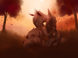 Warm Autumn by Densetsugin