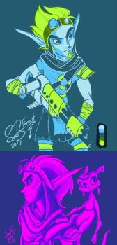 [RE]: Jak and Daxter Colour Palette by Farorest