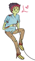 Mika the Zombie by ask-OlgarThePsychic