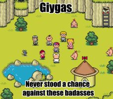 Earthbound awesomeness by GGgamertime