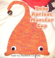 Baby Apricot Monster Cap by minishadowlove