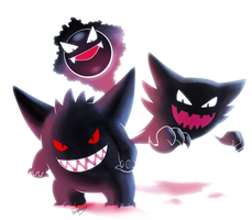 The Ghost mons by Respeanut