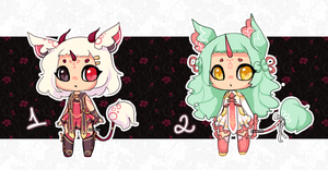 NEW SPECIES - ADOPTABLES OPEN by koyame