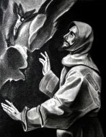 St. Francis of Assisi by rafael-pencil-art