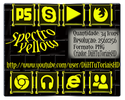 Icons Spectro Yellow - Exclusive 2012 by DiiHnaNeT