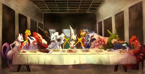Last Poke Supper by SNicol-Todd