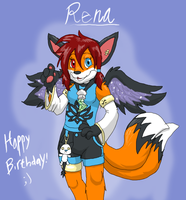 Happy Birthday Rena by Metal-Kitty