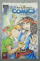 He's A Pirate Comic Sketchcover by DaphneLage