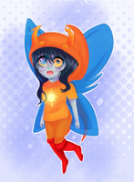 Vriska - Godtier (again) by Misspic