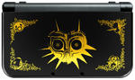New 3DS XL - Majora's Mask Edition BLACK by EuTytoAlba