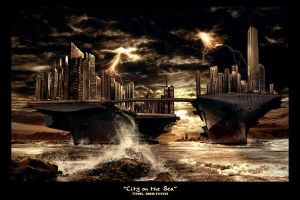 City on the Sea by fervalosious