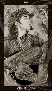 HP Tarot - Ace of Cups by Ellygator