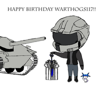happy birthday WarthogS117! OwO by Kamzez97