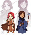 Chibi #5 and #6 by PaolaPieretti