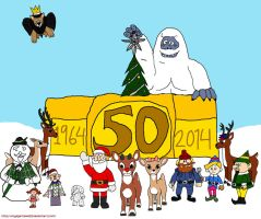 1964 Rudolph: 50th Anniversary by VoyagerHawk87