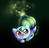 .: 1. Bulbasaur :. by Aluri