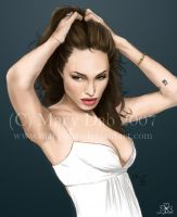 Angelina Jolie by mary-dab