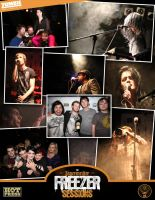 Jagermeister Freezer Sessions August'11 - Collage by ZOMBIEie