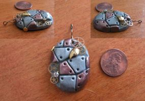 Steampunk Pendant by ShiniGrace