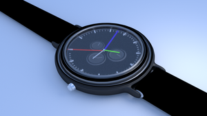 Speed modelling a stopwatch in 60 Minutes by DennisH2010