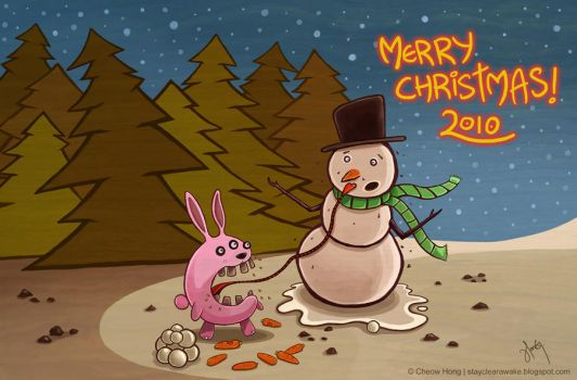 Merry Christmas 2010 by stayclearawake