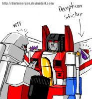 Autobot Starscream by DarkEnergon