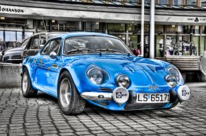Blue Alpine HDR by SindreAHN