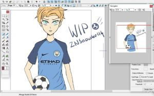 WIP FB by ZNsnowbell4