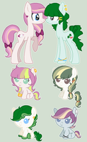 Foals for AverageLeaf by sararini
