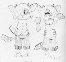 Creature Capers: Dusk and Dawn by theseadragon