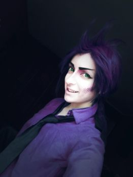Randall Boggs, Human version- Monsters inc Cosplay by AlicexLiddell