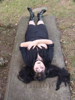 On the grave 2 by HauntingVisionsStock