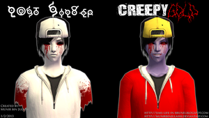 Lost Silver and CreepyGOLD in The Sims 2 by MunirBinJulaihi