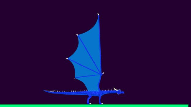 DRAGON FULL BODY STAR FINAL 90 - Frame 0 by Lost-Shadow-Creature
