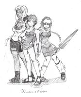 OC Yuri ladies of Konoha by mattwilson83
