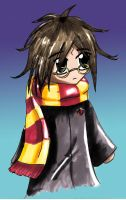 Chibi Harry by StrawberrySoulReaper