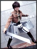 -Hunter- (Eren Jaeger) by KT-ExReplica