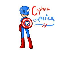 Captain America by ChibiLuver555