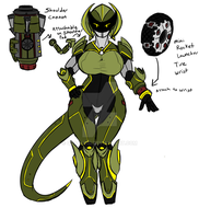 Super Turbo Force- Bryna Concept by QZARLOID