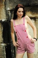Kathryn - pink overalls 3 by wildplaces