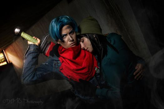 Trunks x Mai Cosplay - Dragon Ball Super by Caydance