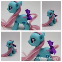 Pop Pony G1 Bowtie by TiellaNicole