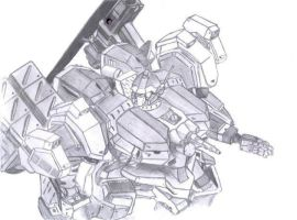 Armored Core by panic-X001