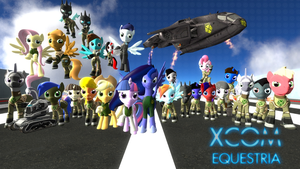 XCOM: Equestria Model Pack by headhunter100060