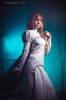 9) BLEACH - Ulquiorra and Ohihime (Espada ver.) by Akaomy