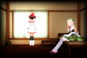 MMD Bed Room Stage by MMDMIKI DL by 2234083174