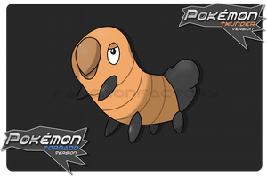 Rhino Beetle Pokemon by harikenn